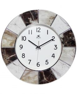 marble office clock for wall