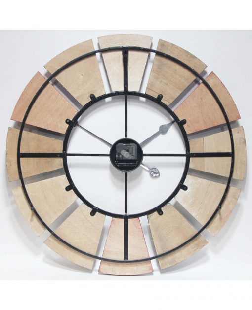 back of windmill wall clock