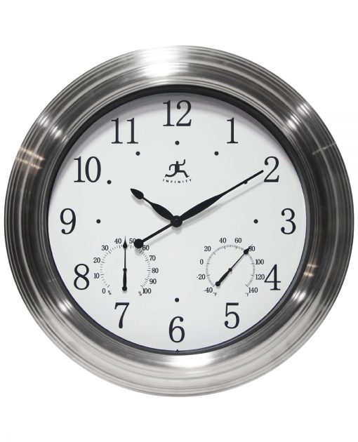 large indoor outdoor wall clock